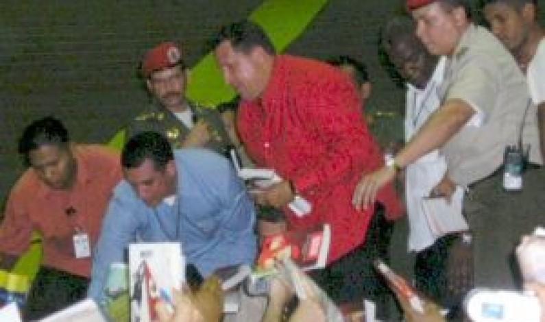 Chávez, el «nuevo libertario»