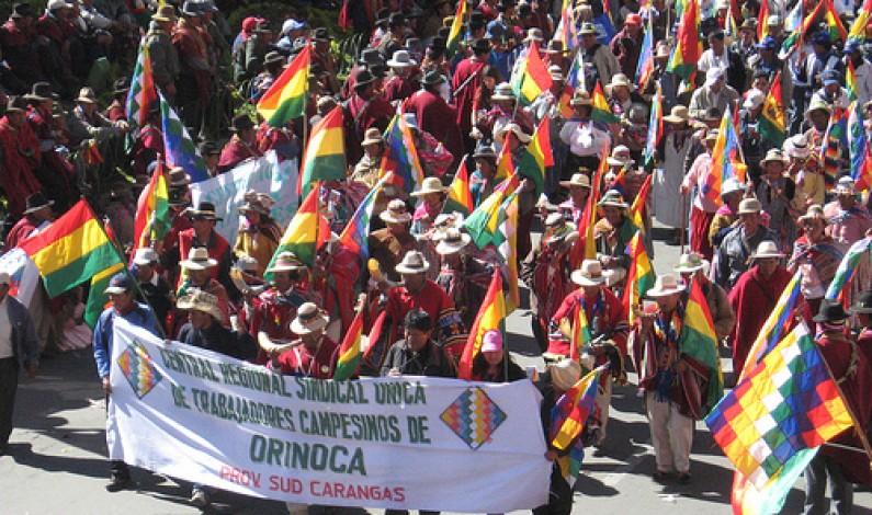 En Bolivia el divorcio entre movimientos sociales y gobierno es notorio