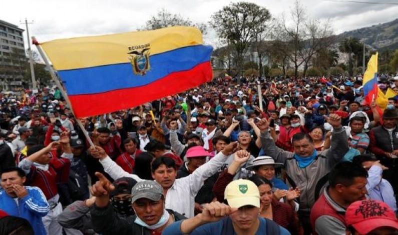 Desde Ecuador para los pueblos, las izquierdas y las mujeres del mundo